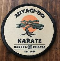 ROUND Karate Kid Movie Miyagi Do Morale Patch Tactical Military Army Flag USA