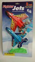 Fighter Jets, Easy Pull-Back Action Glider 2 Pack