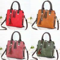 Fashion Women Leather Shoulder PU Handbag Messenger Crossbody Satchel Purse Bag