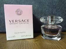 Versace Bright Crystal for Women, Eau De Toilette 0.17oz Mini Women Perfume