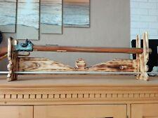 Gewehrhalter,Holz, zum hängen oder stellen für Deko Gewehre, Vorderlader e.t.c