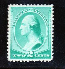 US 213 2c Washington Mint VF OG H SCV $40