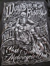 Men's T-shirt size M - Mayhem Rising- West side motorcycle club