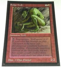 Collector's Edition BETA Sedge Troll MTG MAGIC THE GATHERING LP