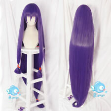 Fate/Grand Order Nitocris Anime Cosplay Purple Hair wig 150cm