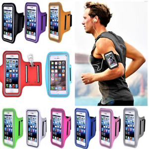 Size 15 cm x 9 cm Sport running Gray Phone Armband For i-phone 4 5 5S 6 6S SE