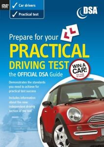 OFFICIAL DVSA PREPARE LEARNERS PRACTICAL DRIVING TEST DVD CAR DRIVERS NEW SEALED