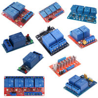 1/2/4/8 Channel Relay Board Module with Optocoupler LED for Arduino PiC ARM AVR