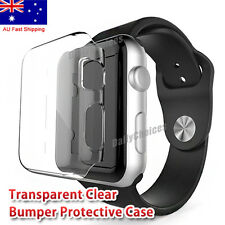 Apple Watch Series 3 Case iPhone Watch 1 2 3 4 Clear Case Cover for 42 38 40 44