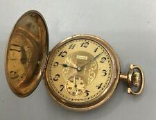 1922 Vintage Elgin 16s Hunting Case Pocket Watch