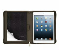 Filofax Microfiber Tablet Case for Apple iPad Air 2 Khaki NIB Fashion + Function