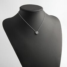 Michael Kors Silver Crystal Necklace