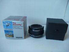 Lenmar QwickFlip VQ205 Telephoto & Wide Angle Lens for 46mm 37mm Camcorder
