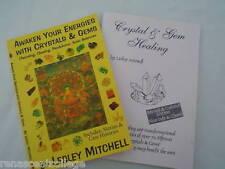 2 X AWAKEN YOUR ENERGIES Book on Disc + CRYSTAL GEM HEALING Paperback BOOK