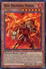 Red Dragon Ninja (ABYR-EN082) - Super Rare - Near Mint