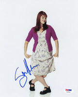 SARA RUE SIGNED AUTOGRAPHED 8x10 PHOTO LESS THAN PERFECT PSA/DNA