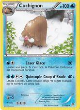 Cochignon -N&B:Tempête Plasma-27/135-Carte Pokemon Neuve Française