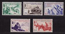 timbres France LVF  série Borodino  num: 6 a 10 **