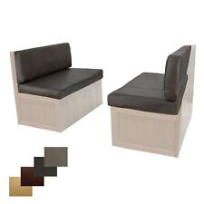"""RV Dinette Cushions 38"""" Chestnut 2 Pack Memory Foam FREE Shipping"""