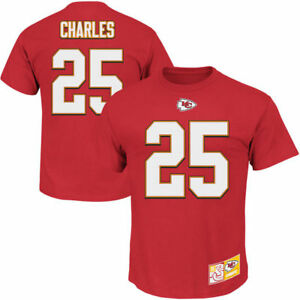 Men's Kansas City Chiefs Jamaal Charles The Eligible Receiver II Tee Red, Size:M