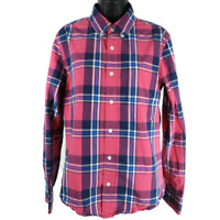 Aeropostale Multi-color Plaid Long Sleeve Button Up Shirt Women's Size Small