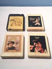 ELVIS PRESLEY SUN RECORDS 8 TRACK LOT OF 4 INTERVIEWS LIVE 1ST EARLY RECORDINGS