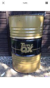 EMPTY METAL OIL BARREL DRUM 209 or 200Ltr 45 GALLON Incinerator BBQ