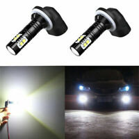 2x 896 881 LED Fog Lights Bulbs For Dodge Ram 1500 99-2001 Ram 2500 3500 99-2002