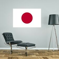 JAPAN FLAG GIANT WALL STICKER decal car art vinyl 5 sizes