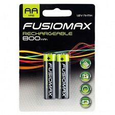 2 X Fusionmax  AA 800mAh RECHARGEABLE  1.2 V Ni-MH