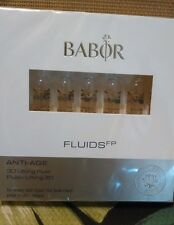 Babor Fluids FP 3D Lifting Fluid 7x 2ml Ampules NEW IN BOX