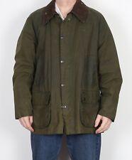 """BARBOUR Bedale Wax Jacket Coat 48"""" Green XXL XXXL (5CP)"""