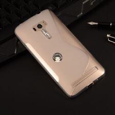 CW.Case For Asus Zenfone 2 Laser ZE550KL ZE551KL- Soft S Line Gel TPU Cover Skin