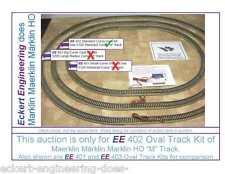 """EE 402 New Märklin Marklin HO 5100 Standard Radius Curve """"M"""" Track Oval Kit"""