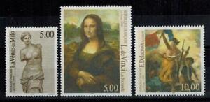 (a63) timbres France n° 3234/3236 neufs** année 1999