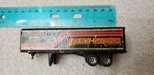 RARE 1981 HO Matchbox Harley Davidson Semi Tractor Trailer 1:64