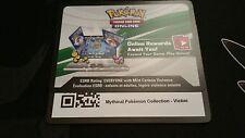Mythical Pokemon Collection - Victini Pokemon TCG Online CODE *FREE SHIPPING*