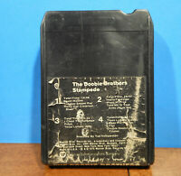 THE DOOBIE BROTHERS STAMPEDE 1975 STEREO 8 TRACK TAPE CARTRIDGE TESTED!