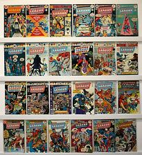 Justice League of America.  Lot of 37 comics   See Issue #'s and photo below...