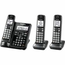 Panasonic Kx-tgf543b 3hs Cordless Telephone ITAD DK Black