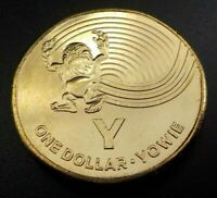 2019 Great Aussie Coin Hunt - UNC $1 coin, Y for Yowie