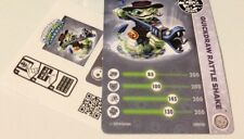 Skylanders Rare Exclusive Quick Draw Rattle Shake Card & Code ONLY ~ NO FIGURE