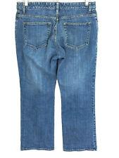 Gap Jeans Boot Cut Stretch Medium Wash Womens 12A 12 Ankle Actual 32 x 27