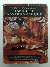 LAROUSSE GASTRONOMIQUE World Authority Food Wine Cookery 1961 1st US Edition