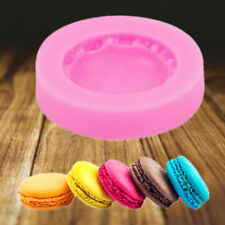 New 3D Macarons Silicone Mold Sugarcraft Fondant Chocolate Cake Decoration Tools