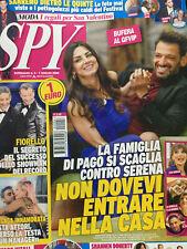 Spy 2020 6.Pago & Serena Enardu,Lady Gaga,Shannen Doherty,Alvaro Vitali,Fiorello