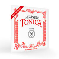 New Pirastro Tonica Violin Strings 4/4 Ball End(412021) Full Set Free Shipping!