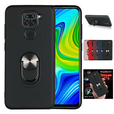 For Xiaomi Redmi Note 9S 9 Pro Shockproof Magnetic Ring Holder TPU+PC Cover Case