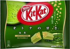 Japan Nestles Kit Kat Chocolates Green Tea Uji Matcha Maccha 12Bar kit kats YUM