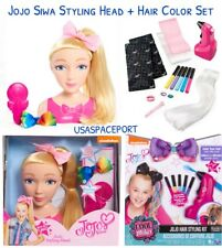 My Life as JOJO Siwa DOLL STYLING HEAD+Bonus AIRBRUSH Hair Stylist Color Bow Set